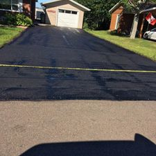asphalt sealed